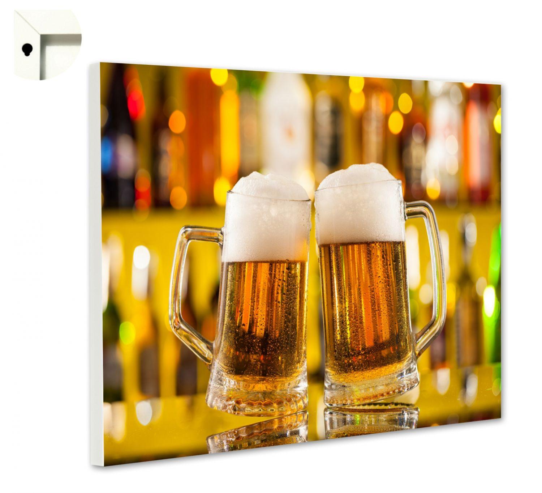 magnettafel pinnwand mit motiv k che essen trinken bier im krug prost ebay. Black Bedroom Furniture Sets. Home Design Ideas