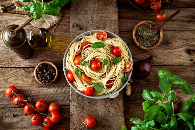 Magnettafel pinnwand motiv k che essen trinken spaghetti for Artistic argentinean cuisine