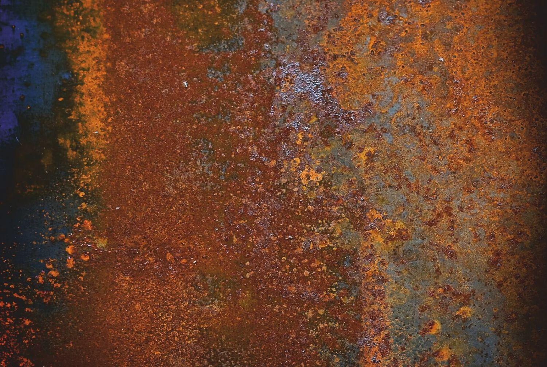 Magnettafel pinnwand mit motiv muster metall rost alt ebay for Rost metall