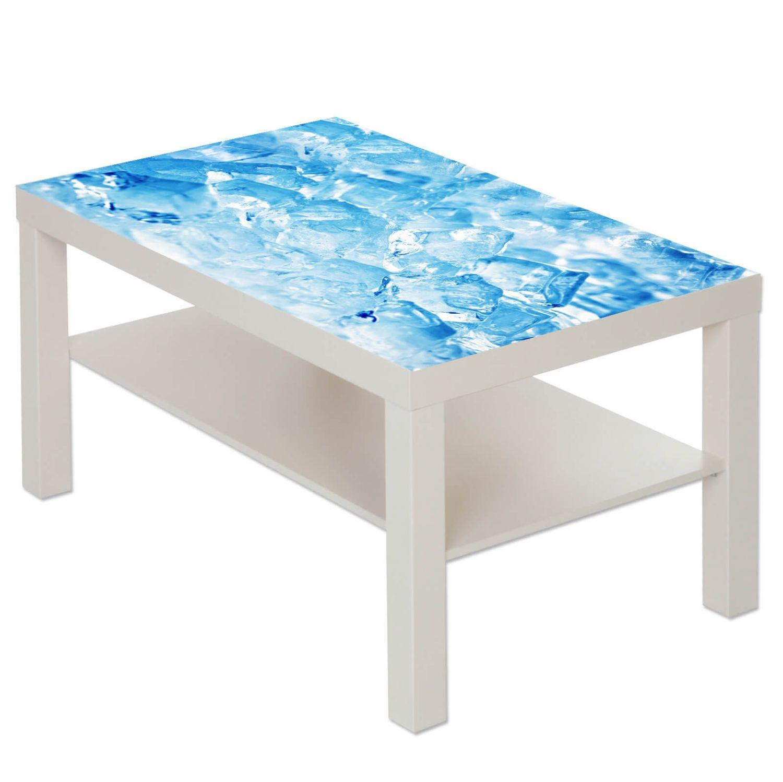 Couchtisch Tisch mit Motiv Bild Eis Würfel 1  eBay