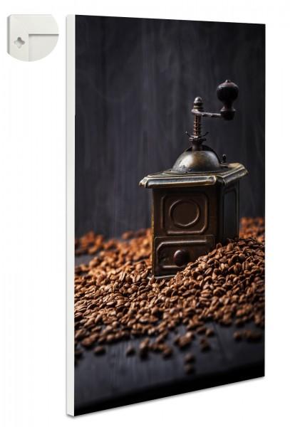 Magnettafel Pinnwand Magnetwand Kaffeemühle Antik Kaffee