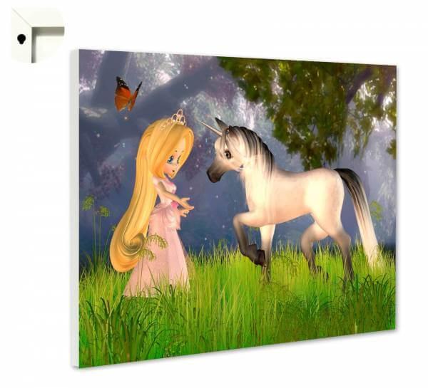 Magnettafel Pinnwand Fantasy Kinder Pony Fee