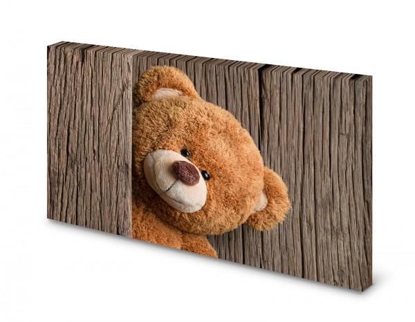 Magnettafel Pinnwand Bild Teddy Teddybär XXL gekantet