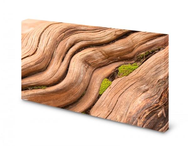 Magnettafel Pinnwand Bild Holz Naturholz Natur Moos gekantet