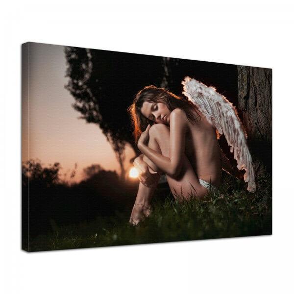 Leinwand Bild Erotik Engel