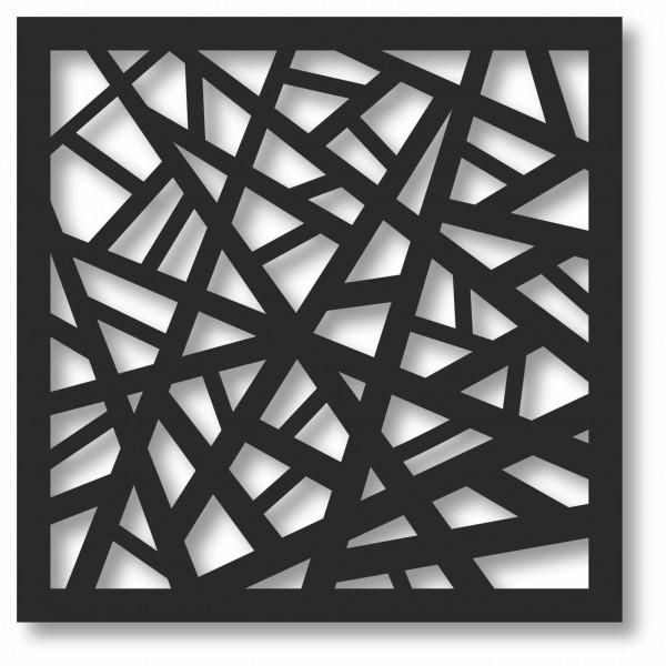 Bild Wandbild 3D Wandtattoo Acryl Mobile Gitter Muster Abstrakt