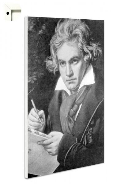 Magnettafel Pinnwand Beethoven Retro Antik