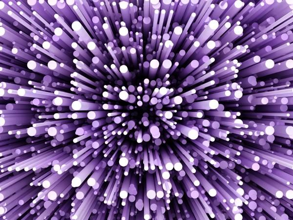 Vlies Tapete Poster XXL Fototapete 3D Effekt lila violett Space