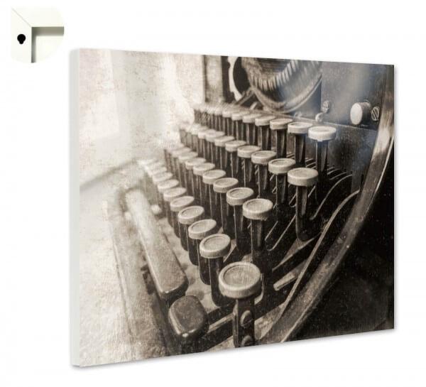 Magnettafel Pinnwand Retro Schreibmaschine Antik