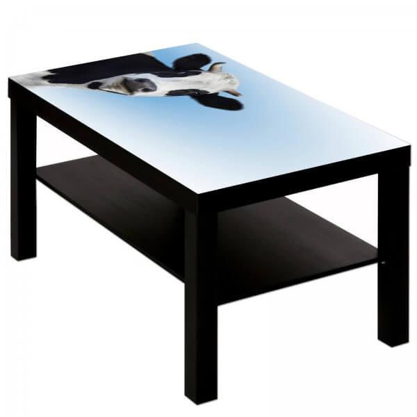 Couchtisch Tisch mit Motiv Tiere Kuh 1