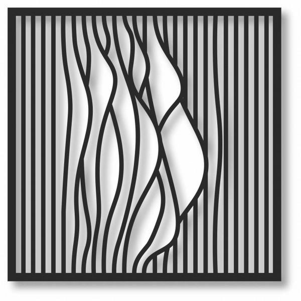 Bild Wandbild 3D Wandtattoo Acryl Mobile Abstrakt Muster Quadrat