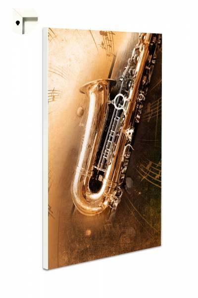 Magnettafel Pinnwand Saxophon