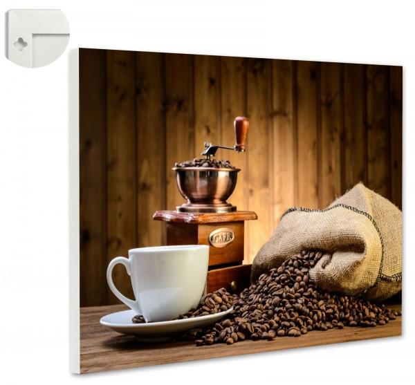 Magnettafel Pinnwand Magnetwand Kaffeesack Kaffeetasse Mühle