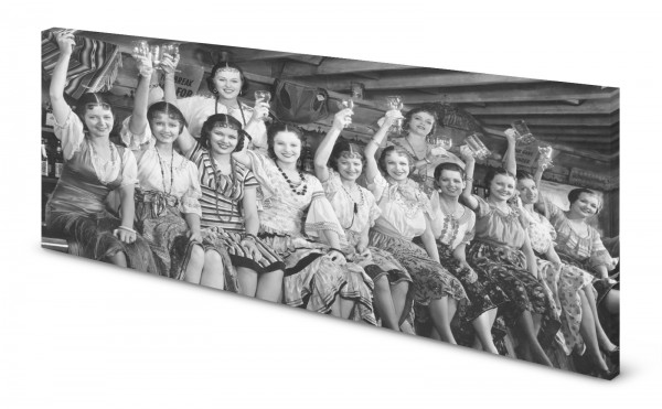 Magnettafel Pinnwand Bild Retro Nostalgie Fotografie gekantet
