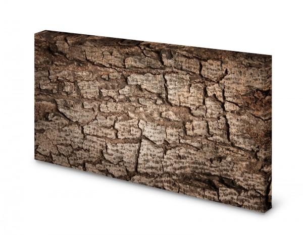 Magnettafel Pinnwand Bild Baumrinde Borke Rinde gekantet