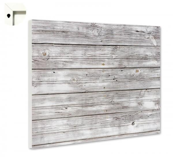 Magnettafel Pinnwand Muster Holz Vintage