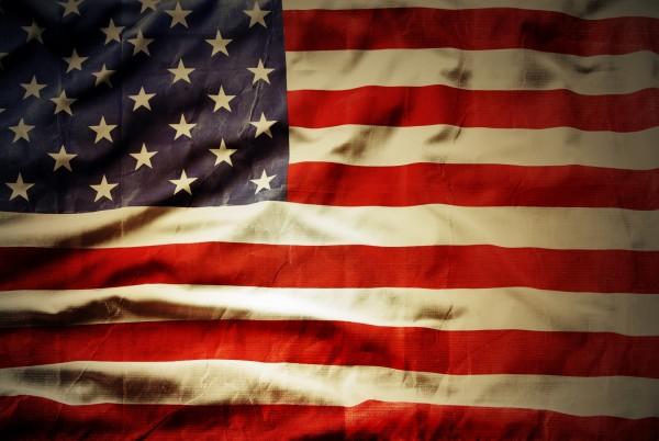 Magnettafel Pinnwand Magnetbild Flagge Fahne USA