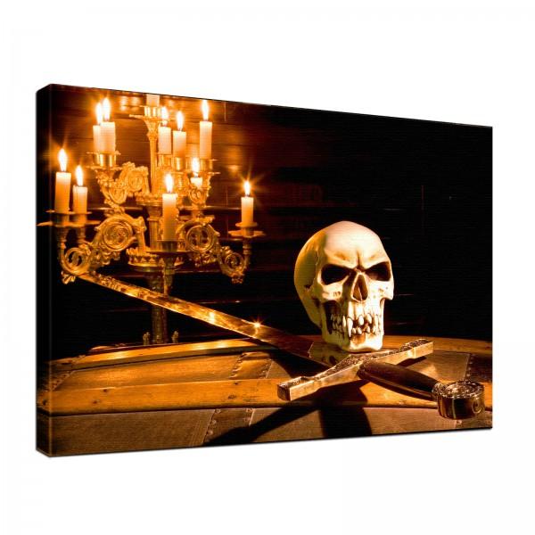 Leinwandbild Gothic Schwert