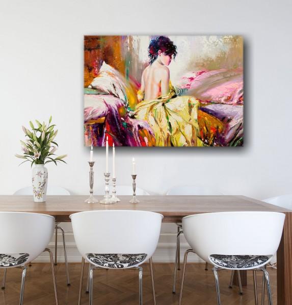 Leinwandbild Gemälde Tamara