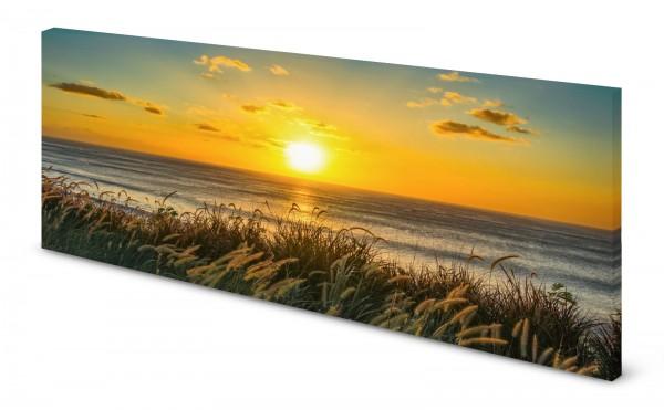 Magnettafel Pinnwand Bild Natur Düne Strand Sonne gekantet
