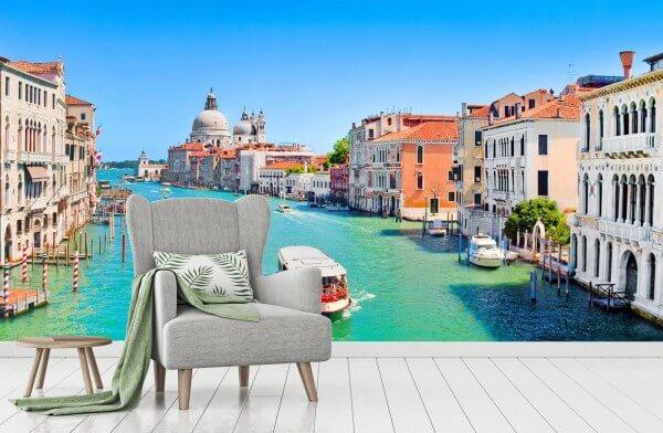 Vlies Tapete XXL Poster Fototapete Venedig Italien