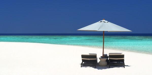 Magnettafel Pinnwand XXL Magnetbild Karibik Meer Strand