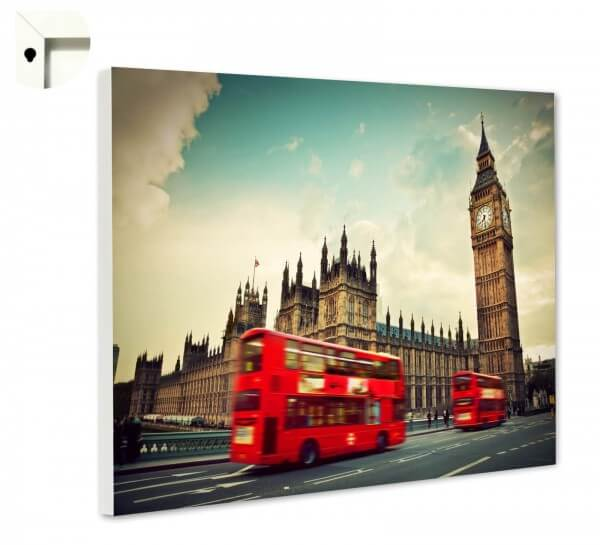 Magnettafel Pinnwand mit Motiv London England Big Ben