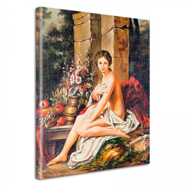 Leinwandbild Gemälde Theresa