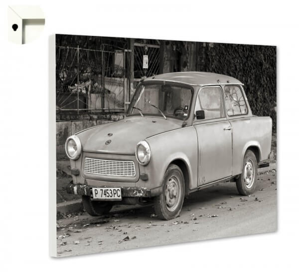 Magnettafel Pinnwand Retro DDR Trabi