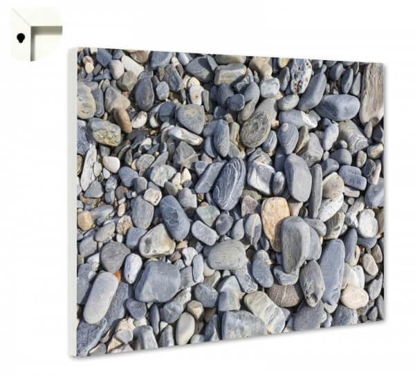 Magnettafel Pinnwand Muster Kieselsteine Steine