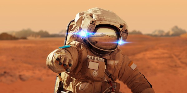 Magnettafel Pinnwand Bild XXL Panorama Astronaut Raumfahrt