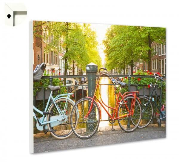Magnettafel Pinnwand mit Motiv Natur Holland Fahrrad