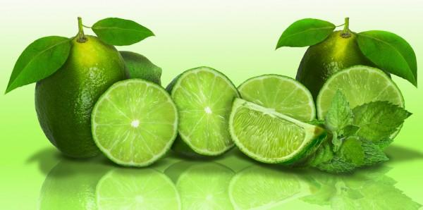 Magnettafel Pinnwand Bild XXL Panorama Limette Küche grün