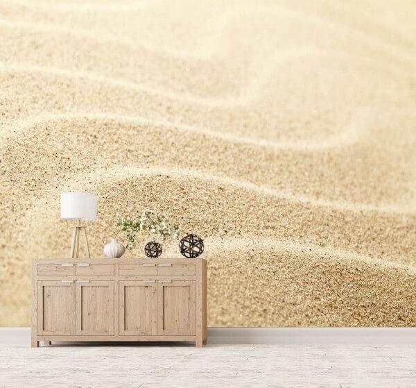 Vlies XXL-Poster Fototapete Tapete Muster Sand Natur beige