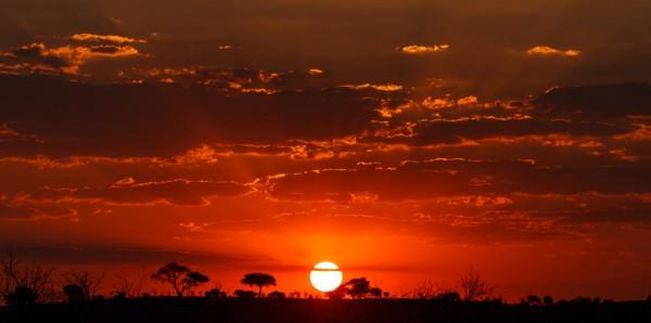 Magnettafel Pinnwand Bild XXL Panorama Abendrot Natur