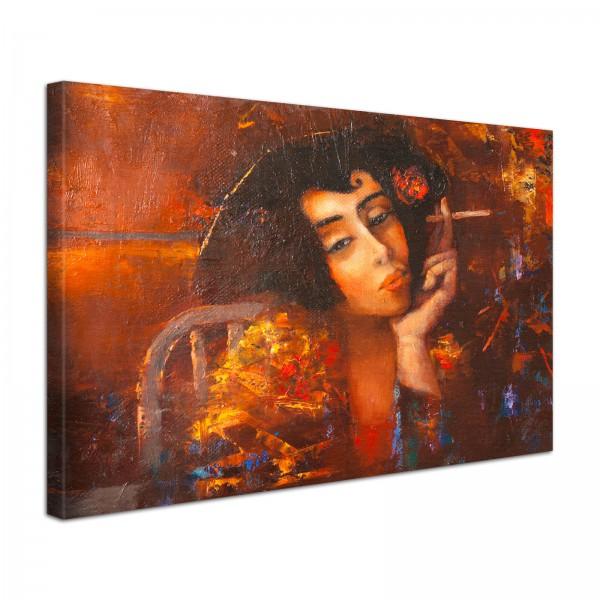 Leinwandbild Gemälde Mirelle