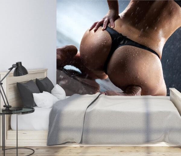 Vlies Tapete XXL Poster Fototapete Erotik Sexy String