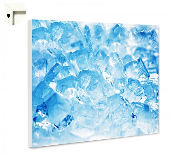 Magnettafel Pinnwand Küche Eiswürfel cool