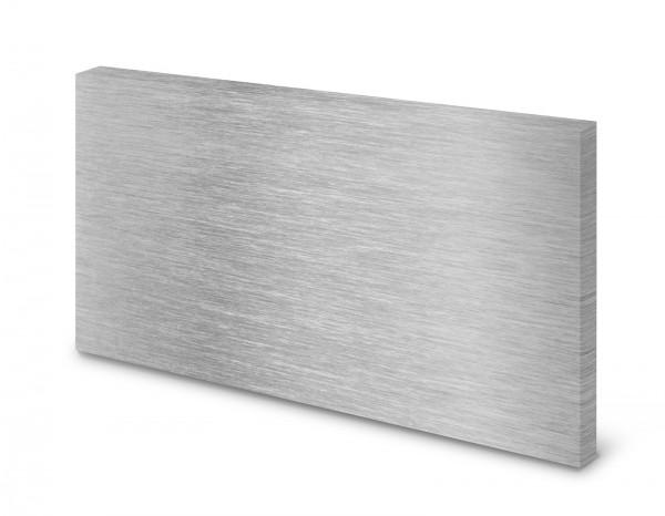 Magnettafel Pinnwand Bild Stahl Edelstahl Metall Metalloptik gekantet