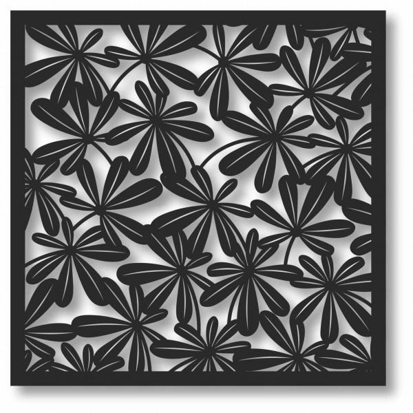 Bild Wandbild 3D Wandtattoo Acryl Mobile Blatt Blattmuster Natur Abstrakt