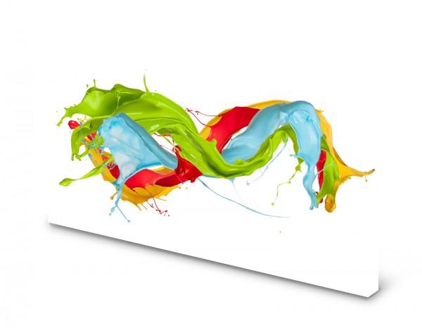 Magnettafel Pinnwand Bild Farben Abstrakt bunt gekantet