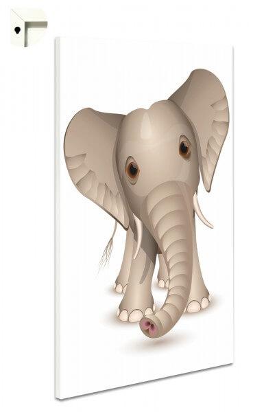 Magnettafel Pinnwand Kinder Tiere Elefant