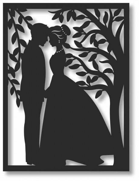 Bild Wandbild 3D Wandtattoo Acryl Mobile Retro Romantik Garden