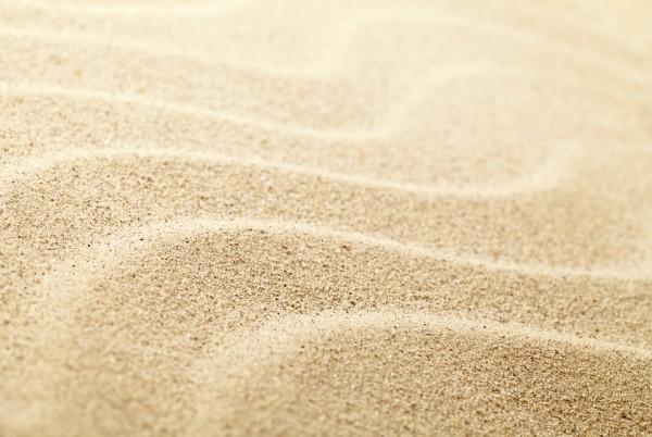 Magnettafel Pinnwand XXL Bild Sand Sandspuren Wellen
