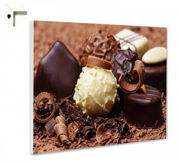Magnettafel Pinnwand Küche Pralinen Schokolade