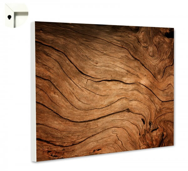 Magnettafel Pinnwand Muster Holz hell