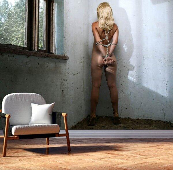 Vlies Tapete XXL Poster Fototapete Erotik Bondage Fesseln