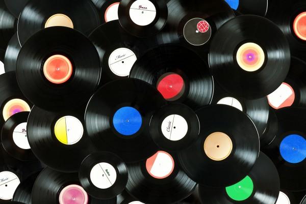 Magnettafel Pinnwand XXL Bild Schallplatten Platten Vinyl