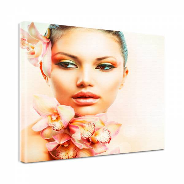 Leinwand Bild Natur & Blumen Beauty Spa Wellness