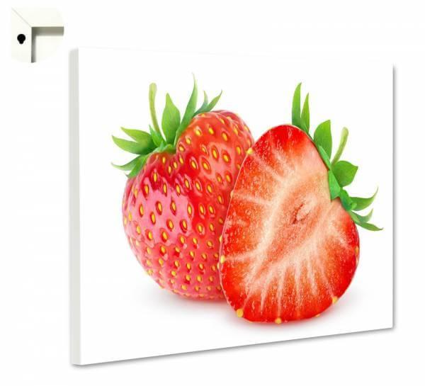 Magnettafel Pinnwand Küche rote Erdbeeren